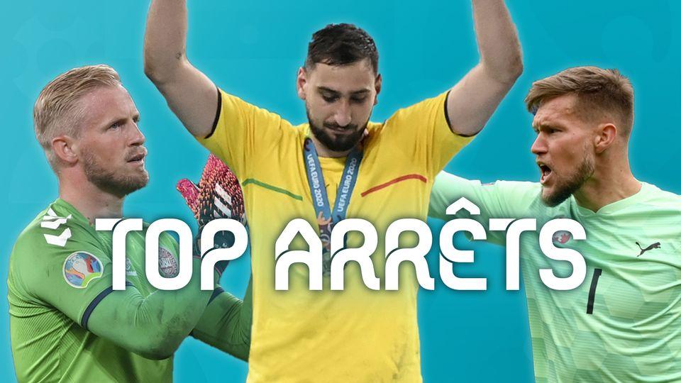 EURO 2020: les plus beaux arrêts du tournoi [RTS]