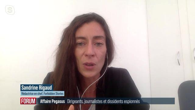 Le logiciel israélien Pegasus a espionné des journalistes et dissidents politiques à travers le monde: interview de Sandrine Rigaud (vidéo) [RTS]