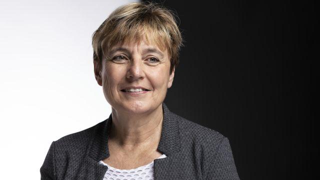 La conseillère nationale Brigitte Crottaz (PS/VD). [Gaëtan Bally - Keystone]