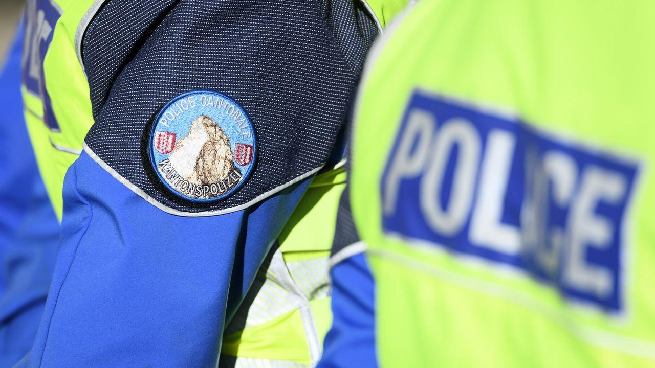 La Police cantonale valaisanne a pincé samedi 120 véhicules en excès de vitesse en l'espace de 90 minutes entre 19h00 et 20h30. Le radar stationnaire était installé sur l'autoroute A9 à la hauteur de Granges (VS). [LAURENT GILLIERON - KEYSTONE]