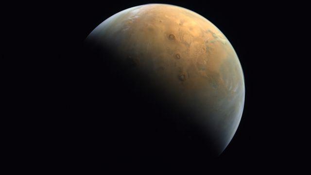 La planète Mars. [UAE Space Agency - Keystone/EPA]