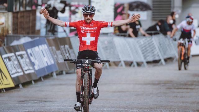 Flückiger compte parmi les candidats crédibles au titre olympique en cross-country. [Keystone]