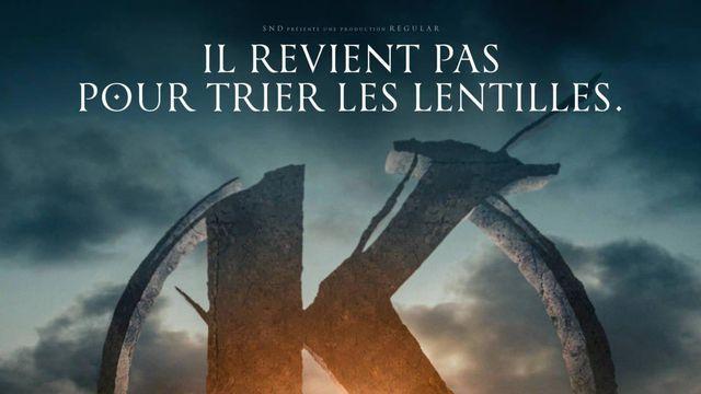 """L'affiche du film """"Kaamelott"""" d'Alexandre Astier."""
