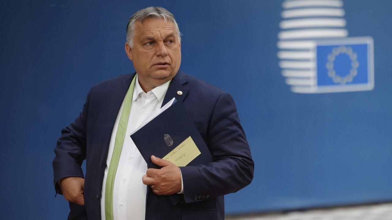 Viktor Orban convoque un référendum en Hongrie sur la loi anti LGBT. [Olivier Matthys - Keystone]