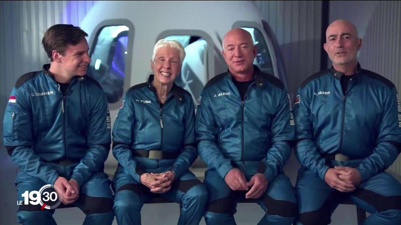 Aller dans l'espace, la nouvelle marotte des milliardaires [RTS]