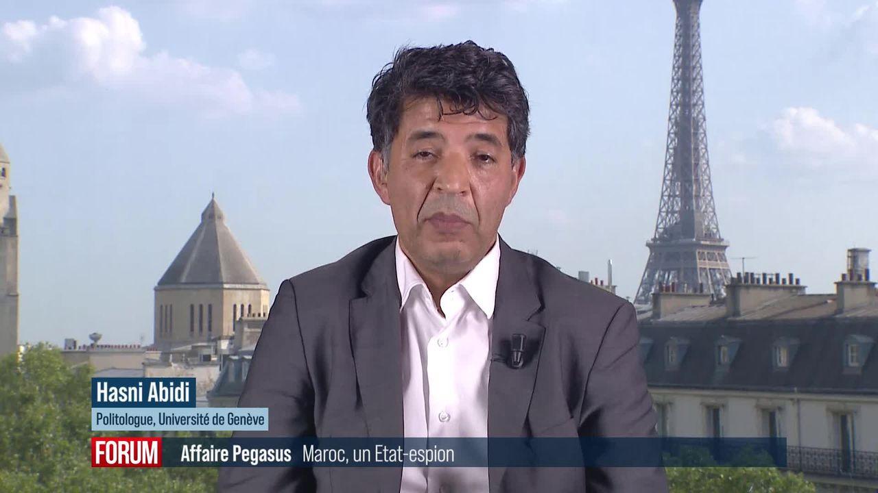 Affaire Pegasus: le Maroc, un État-espion? Interview de Hasni Abidi (vidéo) [RTS]