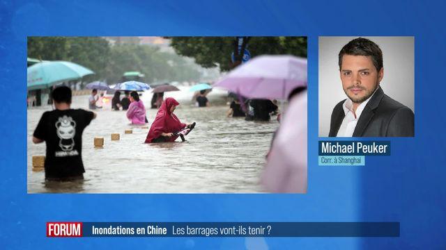 La fragilité des barrages en Chine cause de graves inondations (vidéo) [RTS]
