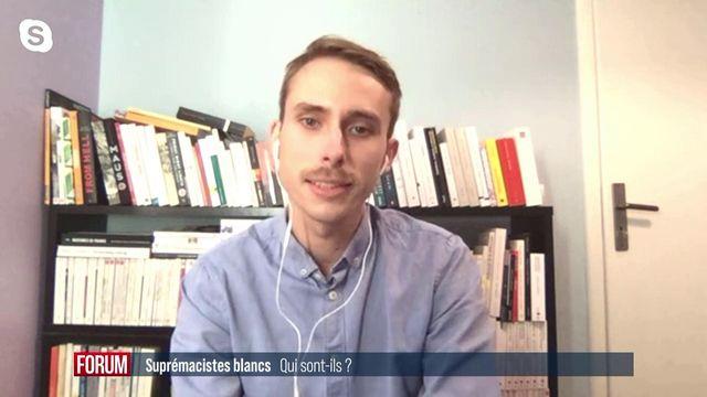 Tristan Boursier, chercheur. [RTS]