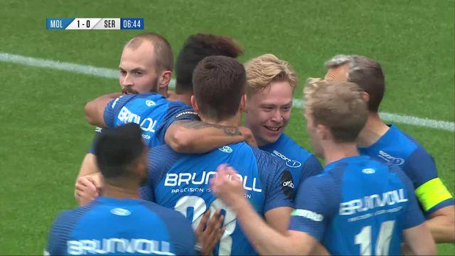 Qualifs Europa Conference League, Match aller: Molde - Servette (3-0): défaite du Servette FC face au leader du championnat norvégien [RTS]