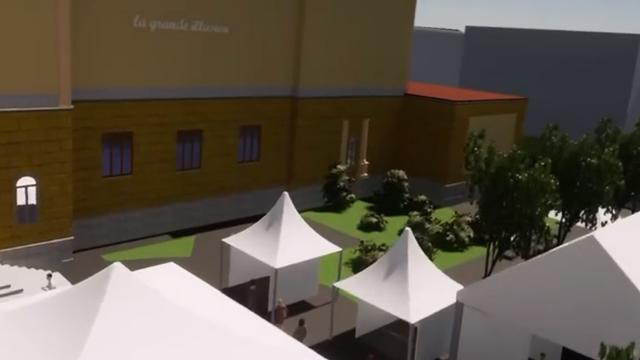 Capture d'écran d'une vidéo diffusée par les organisateurs d'Imagination. [www.imagination.swiss/]