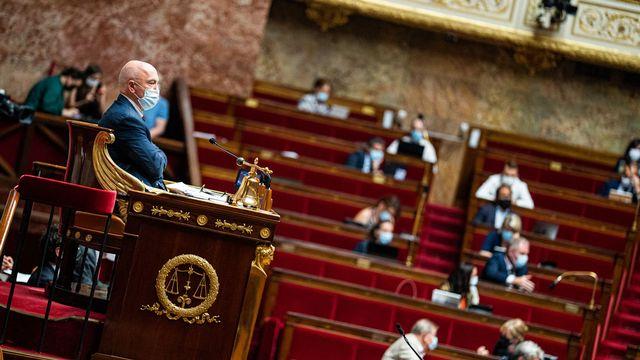 L'Assemblée nationale a validé définitivement le texte par 49 voix contre 19 et 5 abstentions. [Xose Bouzas - Hans Lucas/AFP]