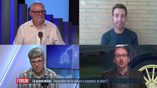 Le grand débat (vidéo) - Fin de la voiture à essence… et alors? [RTS]