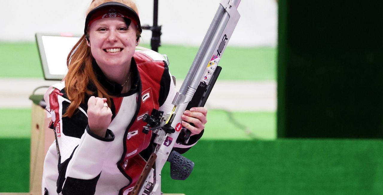 Nina Christen a apporté à la Suisse sa 1re médaille de ces joutes japonaises. [Michael Reynolds - Keystone]