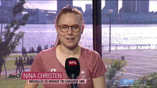 L'interview complète de Nina Christen après son bronze olympique ! [RTS]