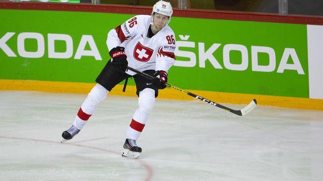 Janis Moser pourrait voir sa carrière prendre une autre dimension en NHL. [Salvatore Di Nolfi]