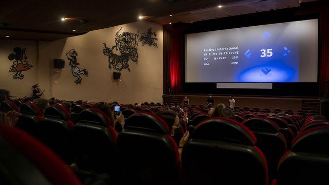 Le 35e festival du film de Fribourg (FIFF) s'est terminé samedi. [Jean-Christophe Bott - Keystone]