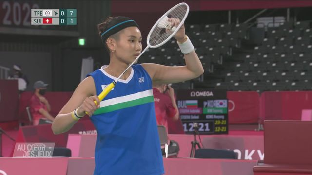 Badminton: Sabrina Jaquet s'est inclinée pour son premier match [RTS]