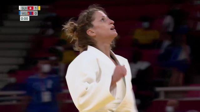 Judo, -52kg dames: Fabienne Kocher (SUI) se qualifie pour les quarts ! [RTS]