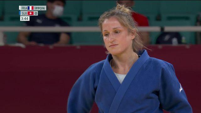 Judo, 1-2 dames (-52kg): rien à faire pour Fabienne Kocher (SUI) qui jouera le bronze [RTS]