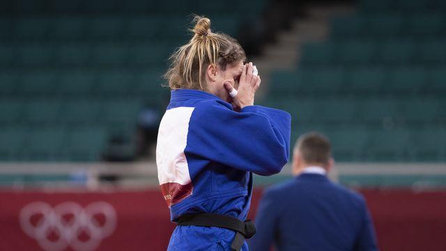 Fabienne Kocher n'a pas réussi à conclure son magnifique parcours avec une médaille. [Peter Klaunzer - Keystone]