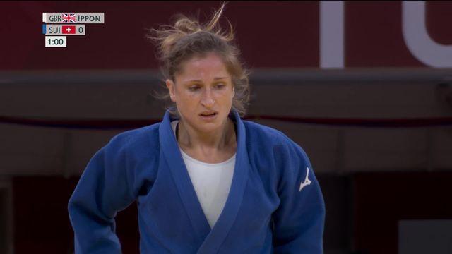 Judo, combat pour le bronze dames (-52kg): Fabienne Kocher (SUI) pas récompensée après son magnifique tournoi ! [RTS]