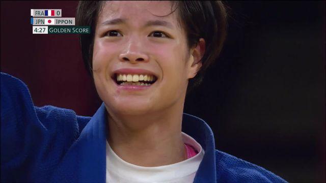 Judo, finale dames (-52kg): Uta Abe (JPN) s'offre l'or olympique au terme d'un superbe combat ! [RTS]