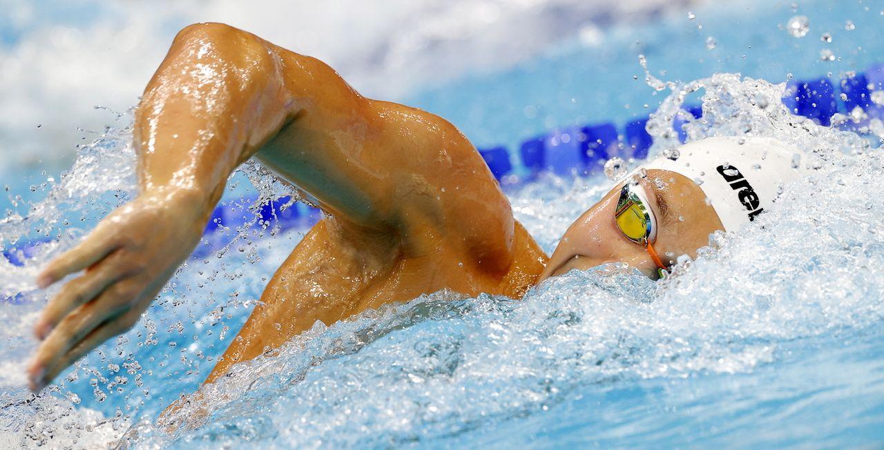 Antonio Djakovic a assuré l'essentiel pour se hisser en demi-finales du 200 m libre. [Valdrin Xhemaj - Keystone]