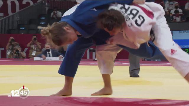 Judo: superbe tournoi pour la judokate Fabienne Kocher qui frôle la médaille de bronze [RTS]