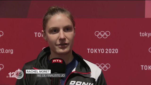 Rachel Moret brille en tennis de table. La Vaudoise affrontera la no1 mondiale, la Chinoise Chen Meng, en 1-16e de finale [RTS]