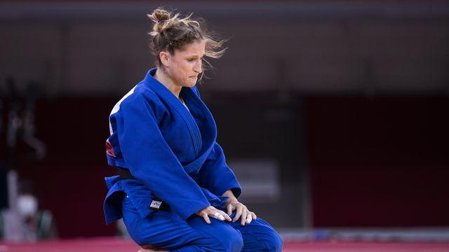 Fabienne Kocher a pris la 5e place chez les moins de 52 kg après un magnifique parcours. [Peter Klaunzer - Keystone]