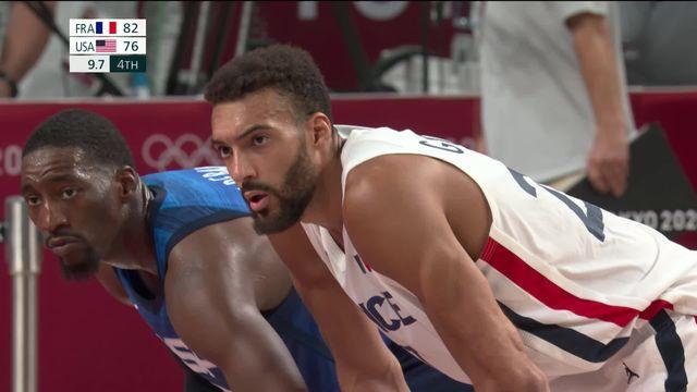 Basket, FRA – USA (82-76): la France surprend les Etats-Unis d'entrée ! [RTS]