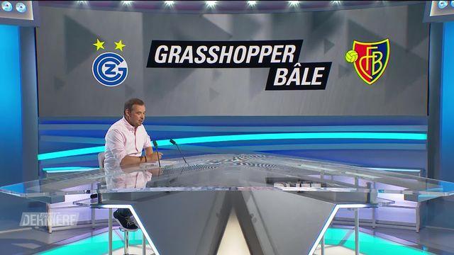 1re journée, Grasshopper - Bâle (0-2) [RTS]