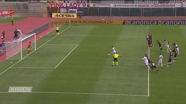 1re journée, Lugano - Zurich (0-2) [RTS]