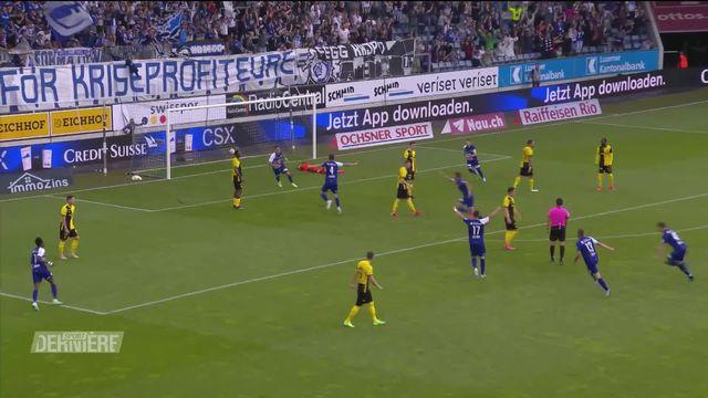 1re journée, Lucerne - Young Boys (3-4) [RTS]