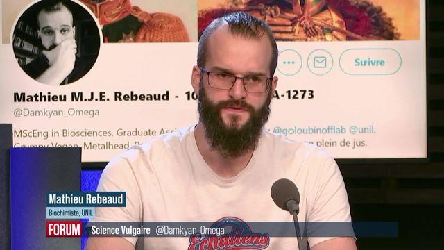 Science vulgaire EP3 - Mathieu Rebeaud (vidéo) [RTS]