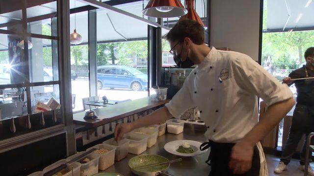 Pénurie de cuisiniers: Les cuisiniers manquent à l'appel [RTS]