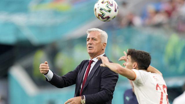Vladimir Petkovic a-t-il disputé son dernier match avec la Suisse contre l'Espagne à l'Euro 2020? [Dmitri Lovetsky - AP]
