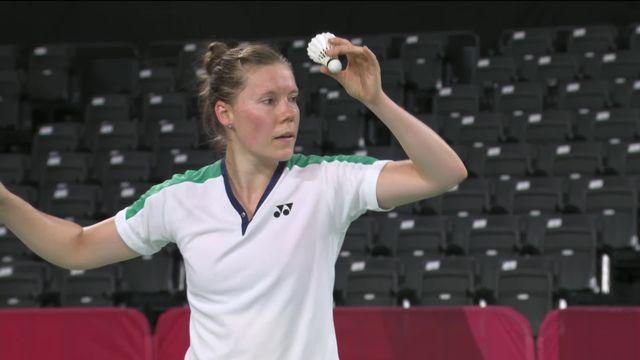 Badminton, tour préliminaire dames, Qi (FRA) - Jaquet (SUI) (21-10, 21-14): deuxième défaite pour la Chaux-de-Fonnière [RTS]