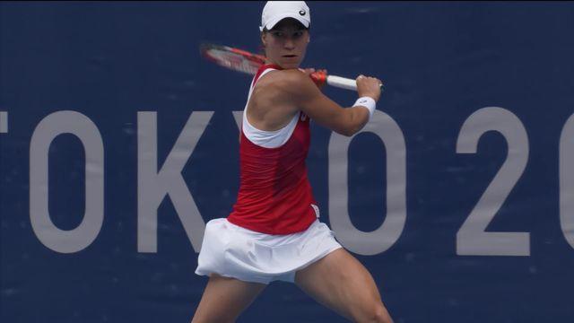 Tennis, 2e tour simple dames, Golubic (SUI) - Osaka (JPN) (3-6, 2-6): Viktorija n'arrive pas à créer de surprise [RTS]