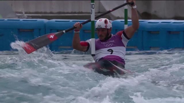 Canoé slalom, qualifications messieurs: une manche mitigée pour Koechlin (SUI) [RTS]