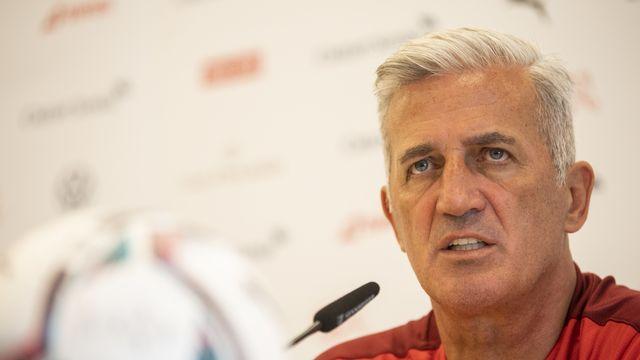 Vladimir Petkovic est à la tête de l'équipe de Suisse depuis 2014. [Ennio Leanza - Keystone]