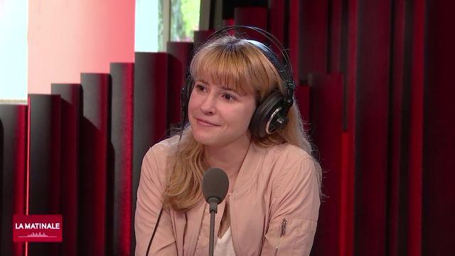 Chloé Carrière, fondatrice de l'association Space@YourService. [RTS]