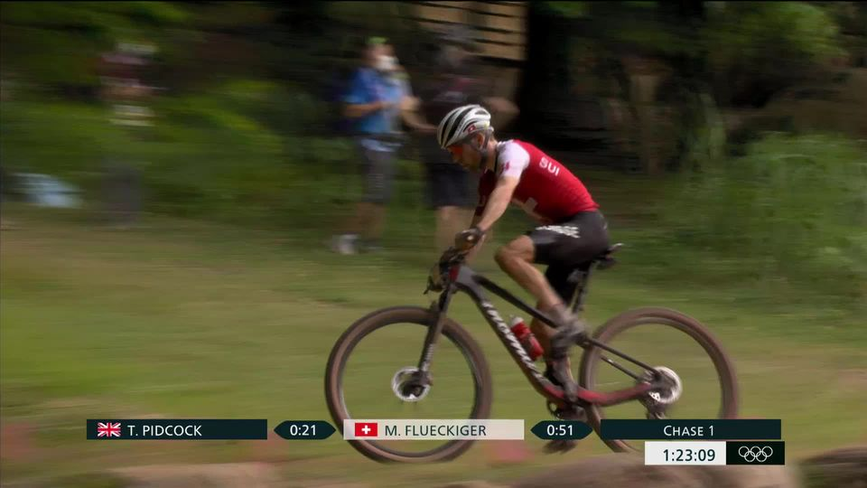 VTT, cross-country messieurs: Flückiger (SUI) en argent derrière Pidcock (GBR), Schurter (SUI) 4e [RTS]