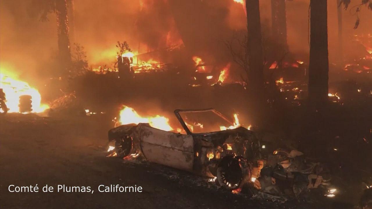 Incendies en Californie [RTS]