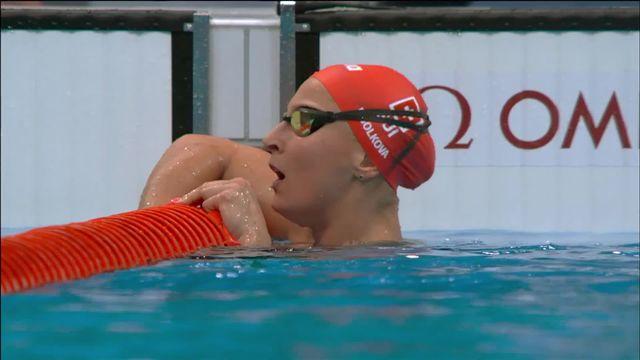 Natation, 200m 4 nages dames, qualifications: record de Suisse pour Ugolkova (SUI) qui sera en 1-2 ! [RTS]