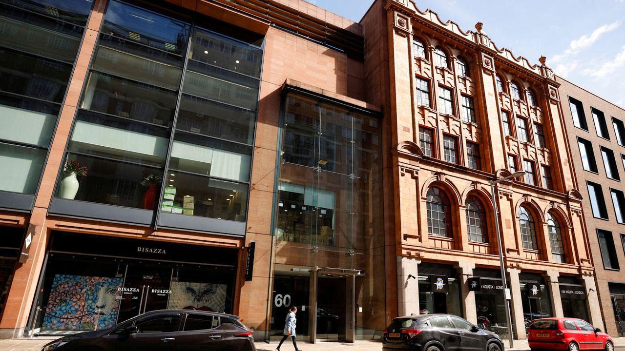 L'immeuble au coeur de l'affaire, sur Sloane Avenue à Londres. [John Sibley - Reuters]