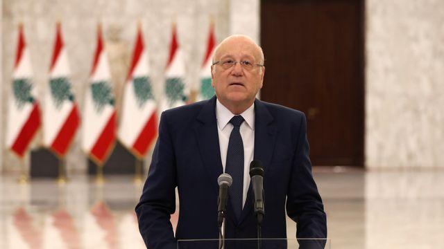 Au Liban, le milliardaire Najib Mikati a été chargé de former un nouveau gouvernement. [Mohamed Azakir - Reuters ]