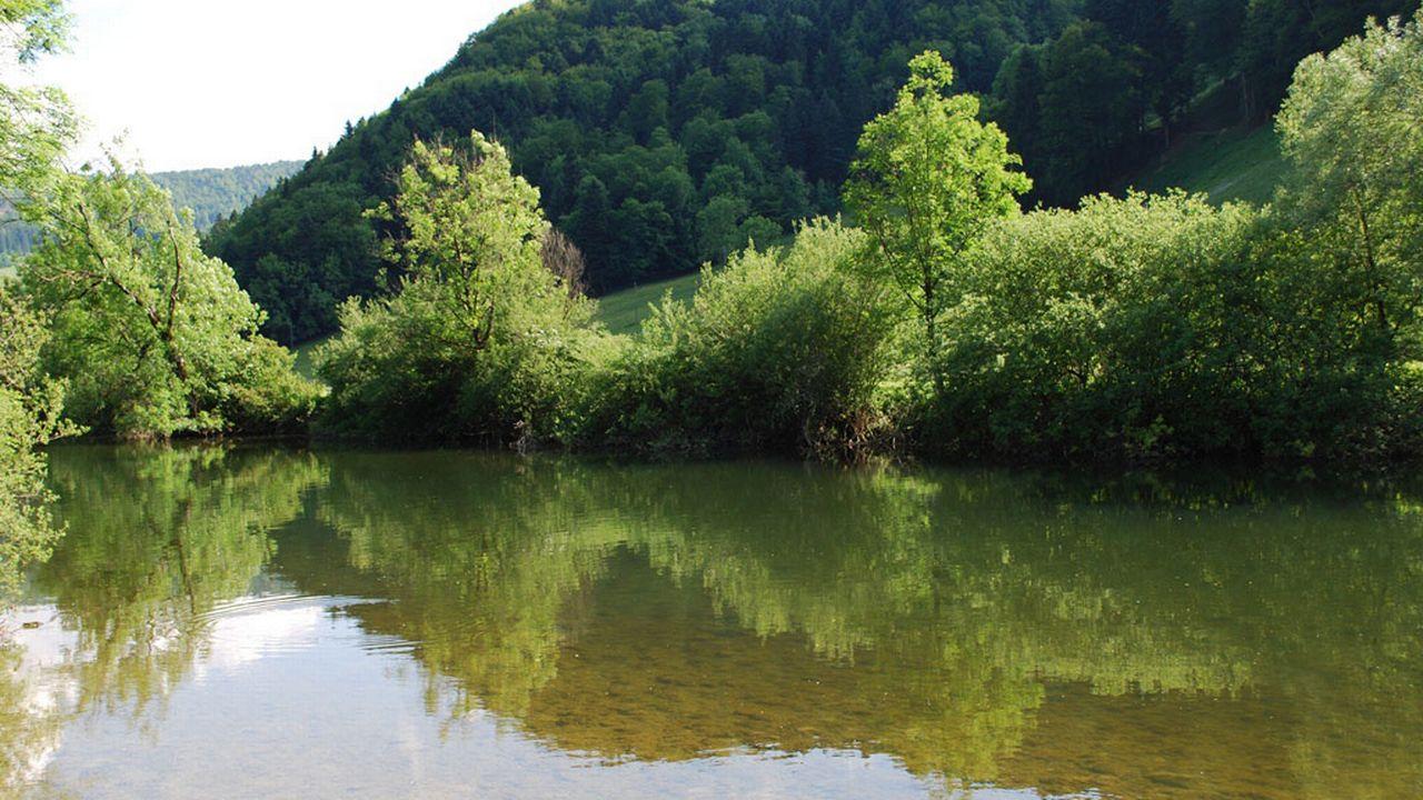 Le Doubs à St-Ursanne. [Gaël Klein - RTS]