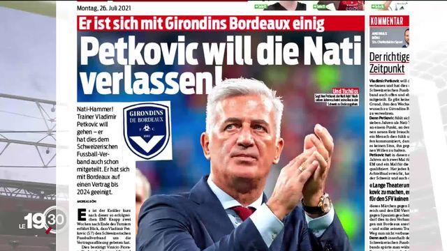 Vladimir Petkovic serait pressenti pour reprendre la tête des Girondins de Bordeaux [RTS]
