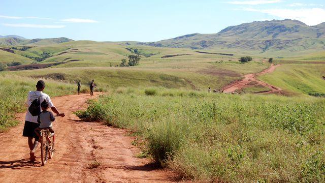 Un demi-million d'enfants de moins de cinq ans vont souffrir de malnutrition aiguë dans le sud de Madagascar. [Clarel Faniry - Reuters]